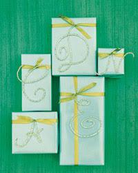 regalos-personalizados Manualidades Navideñas: letras para personalizar regalos