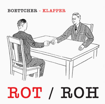 Boettcher Klapper – Rot / Roh - Cover