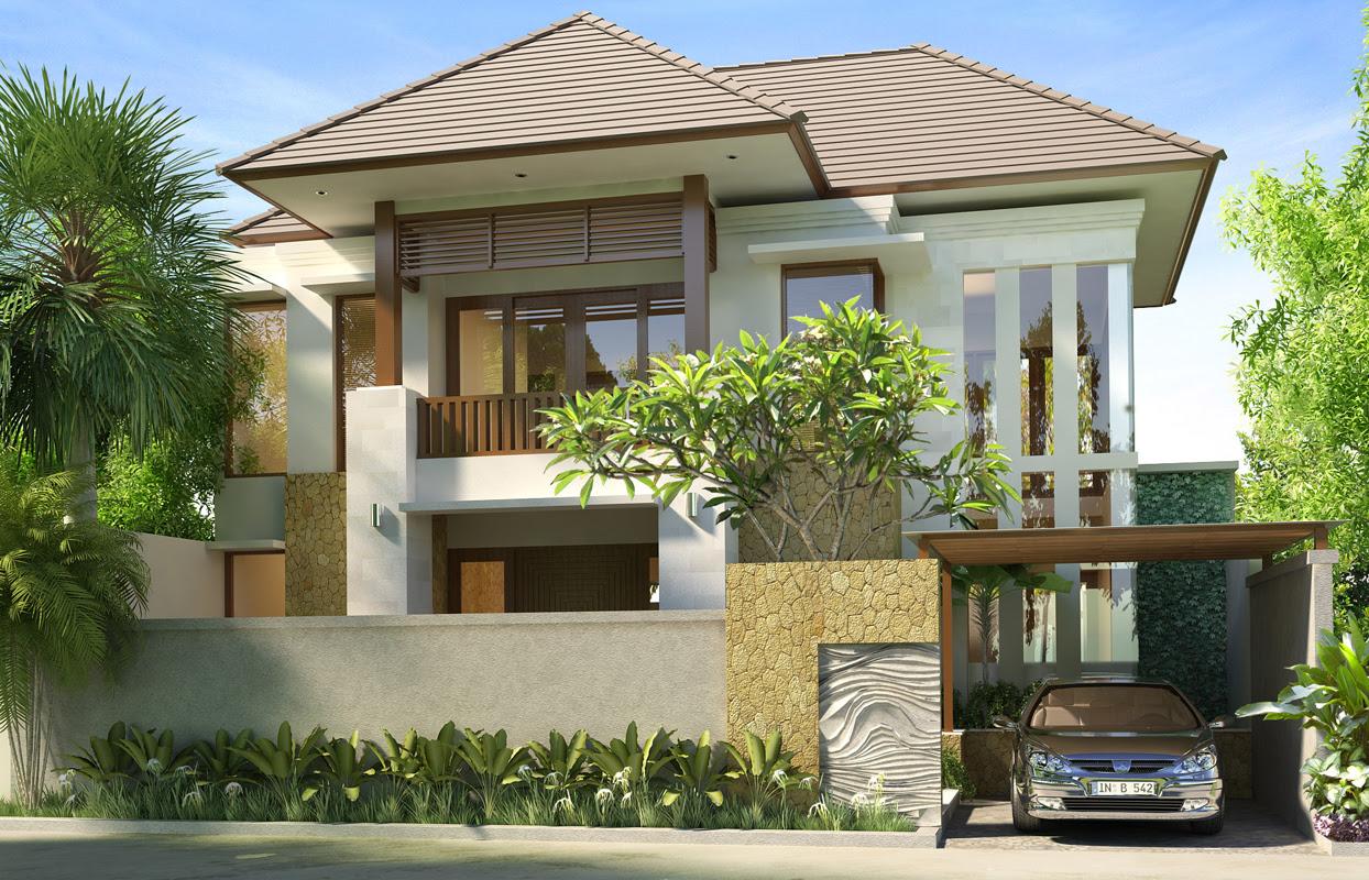 Denah Rumah Minimalis Bali Agape Locs