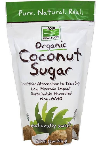 NOW Foods Now Real Food Organic Coconut Sugar 16 oz.