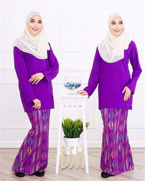 design baju kurung pahang moden casual stylish fesyen
