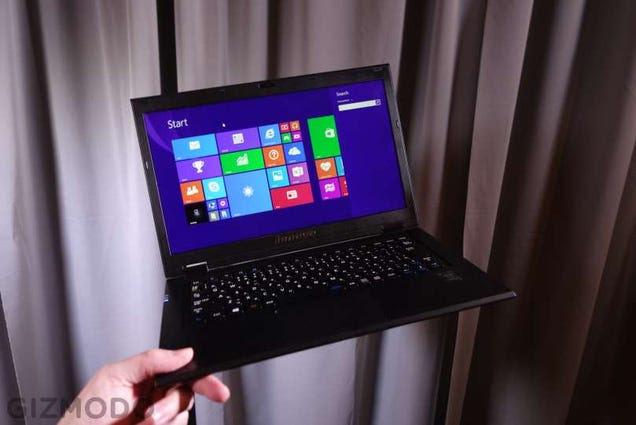 Lenovo LaVie Z: A Laptop So Light I Can Hardly Believe It's Real