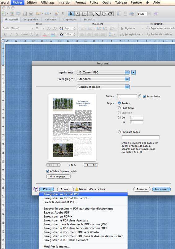 Comment Convertir Un Fichier Word En Pdf Gratuitement