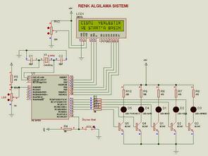 Hệ thống phát hiện màu hiển thị LCD với PIC16F876