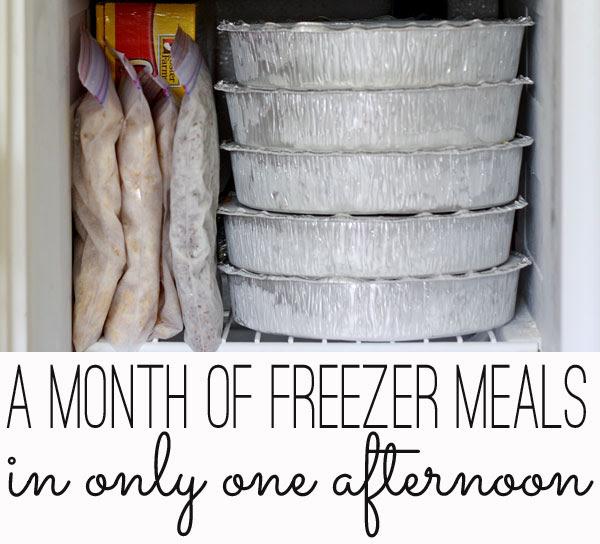 freezer meals tips