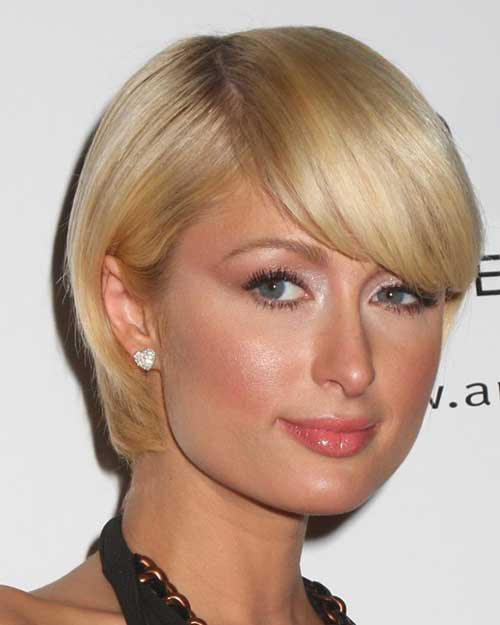 Top 34 Best Short Hairstyles With Bangs For Round Faces - HairStyles for Women
