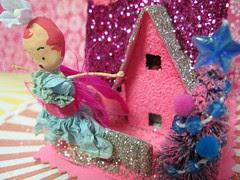Sugar Pink Fairy House!