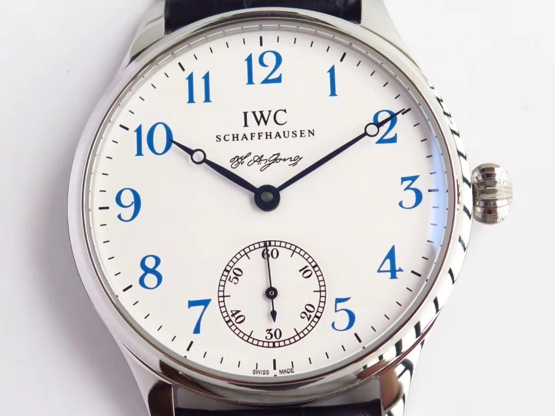 Replica IWC FA Jones White Dial