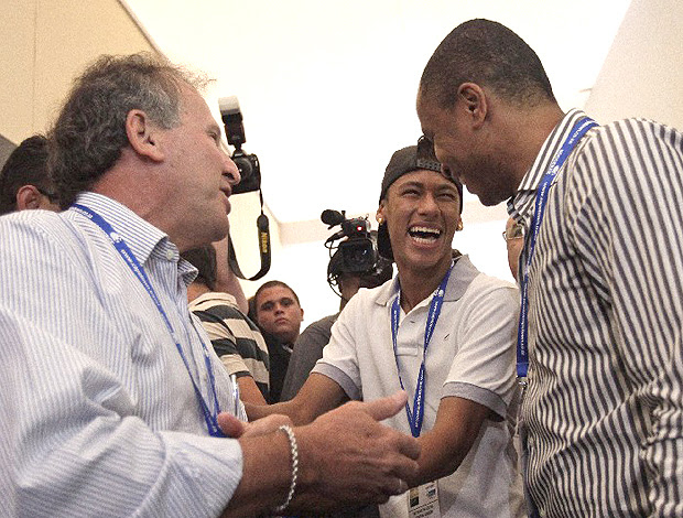 Zico Neymar Soccerex (Foto: Divulgação / Soccerex)