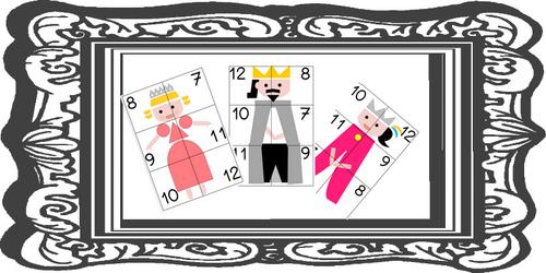 jeu de numération le tout petit roi