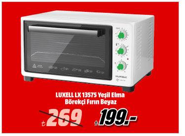 LUXELL LX 13575 Yeşil Elma Börekçi Fırın Beyaz 199TL