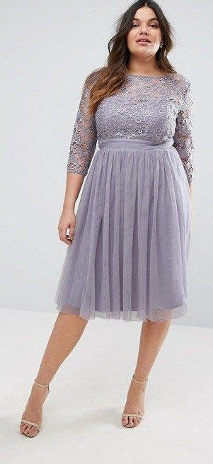 36 Plus Size Wedding Guest Dresses {with Sleeves}   Plus