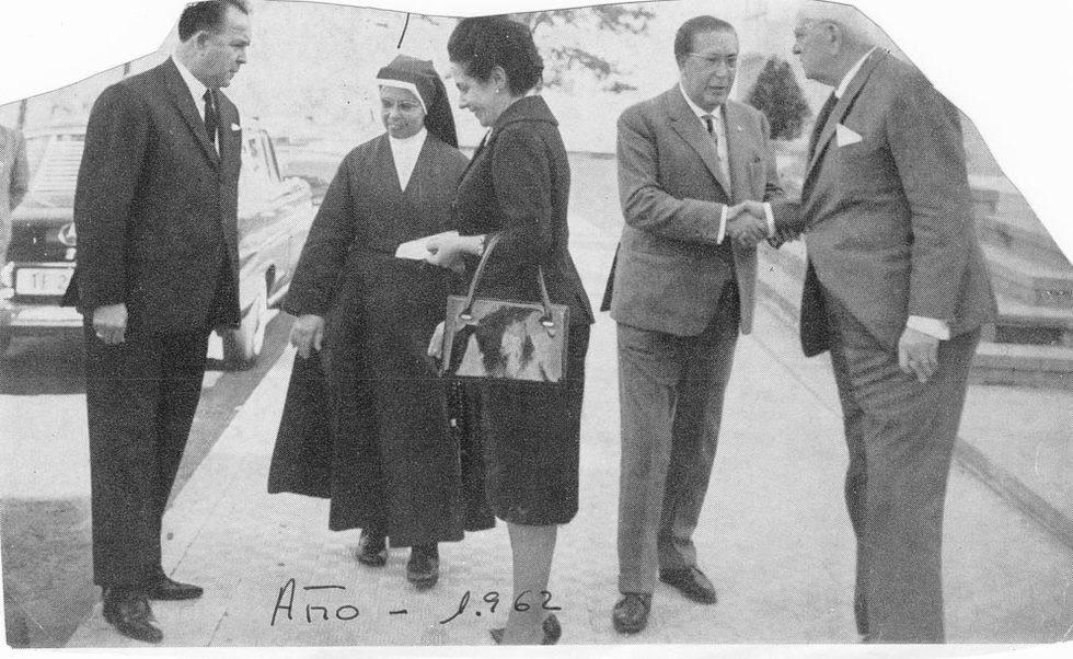 LIBERIA HERNÁNDEZ, NIÑA ROBADA  - Sor Juana Alonso, superiora de la casa cuna