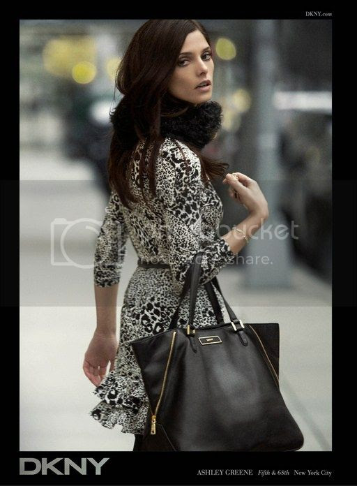 Ashley Greene for DKNY Fall 2012 Ad Campaign