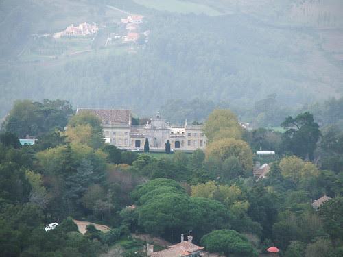 O Palácio de Seteais visto da Pena by Pedro Miguel Simões de Oliveira