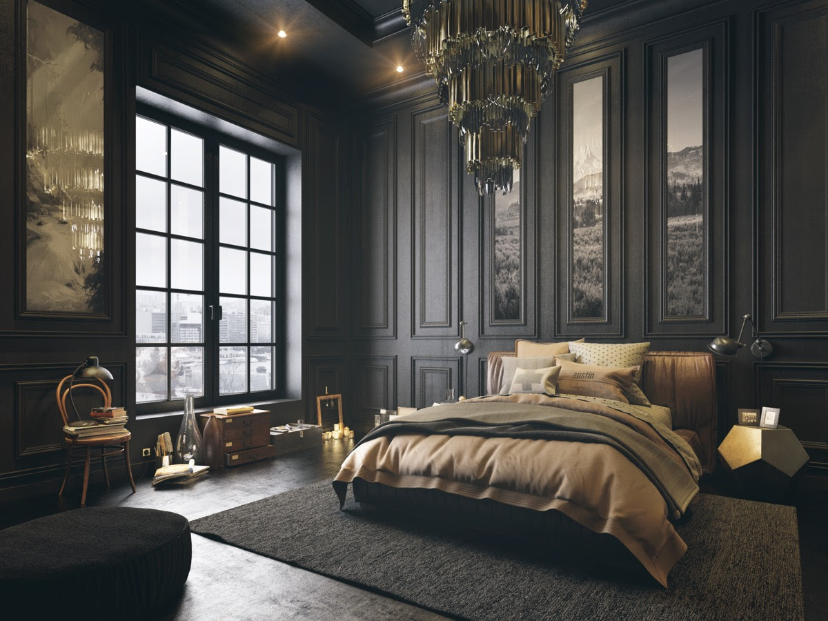 51 Beautiful Black Bedrooms With Images, Tips ...