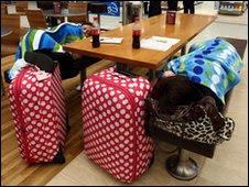 Passengers stranded at Birmingham Airport