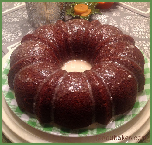Oatmeal-Molasses Pumpkin Cake