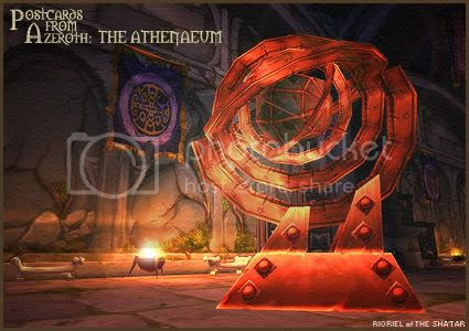 Postcards of Azeroth: The Athenaeum, by Rioriel Ail'thera