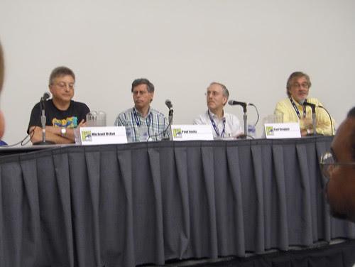 Will Eisner Tribute Panel