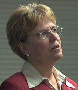 Jane Lubchenco talking