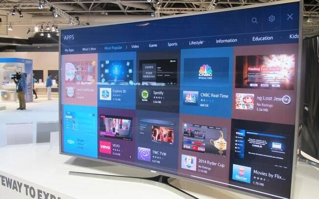 Nova plataforma da Samsung já conta com mais de 400 aplicativos, alguns gratuitos, alguns pagos. Foto: Emily Canto Nunes/iG São Paulo
