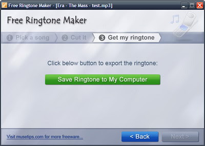 Make Your Own Ringtone - Step 3