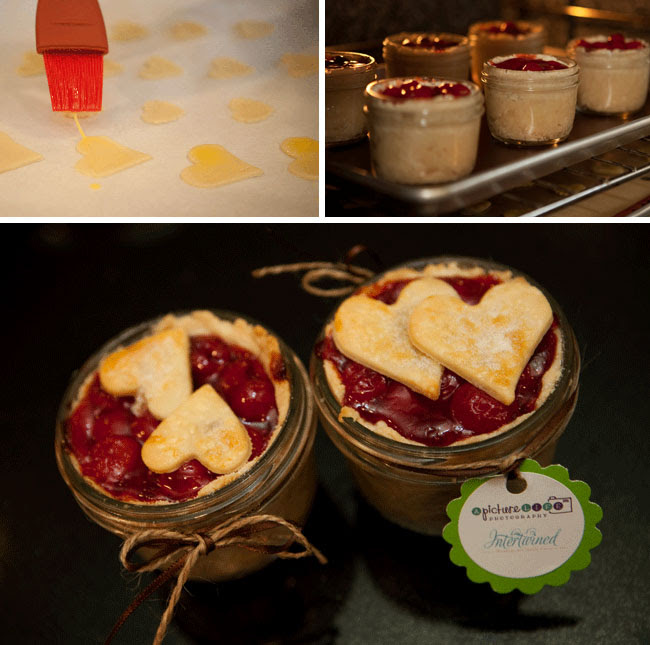 pie in a jar favors