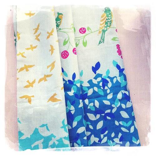 echino fabric :: fargerikt japansk