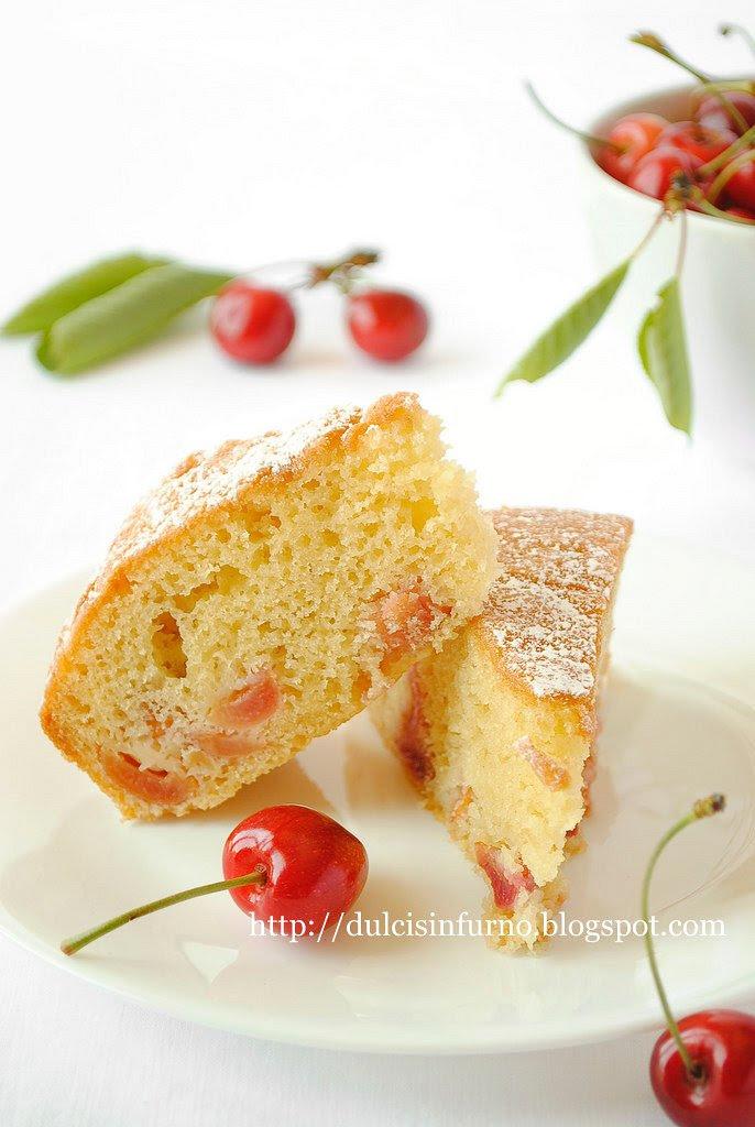Torta di Ciliegie-Cherry Cake