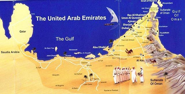 dubai elhelyezkedése térkép Dubai Elhelyezkedése Térkép   Térkép