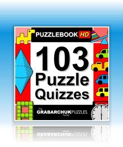 Puzzlebook: 103 Puzzle Quizzes