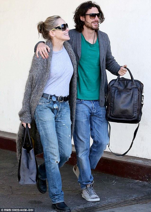 Ne bölmek?  Onlar Los Angeles güneş sarınmış olarak Sharon ve Martin şüpheliler meydan okudu