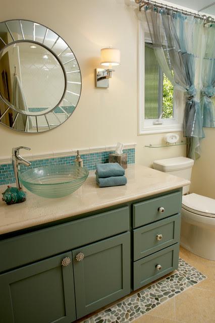 California Ranch Remodel - Contemporary - Bathroom - Other ...
