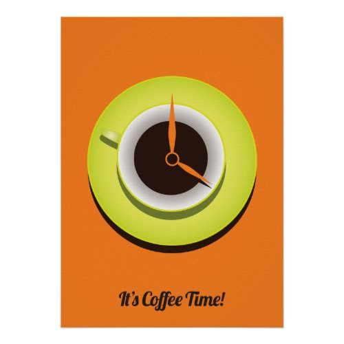 It's Coffee Time Print