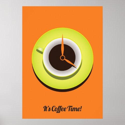 It's Coffee Time Print