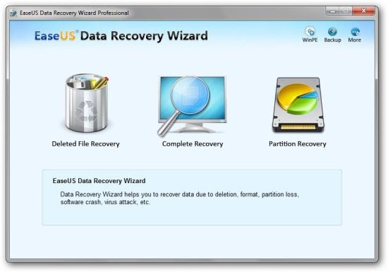 EASEUS Data Recovery Wizard Professional Edition 6.1.0(Serial Key+Crack) Full Version Free ...