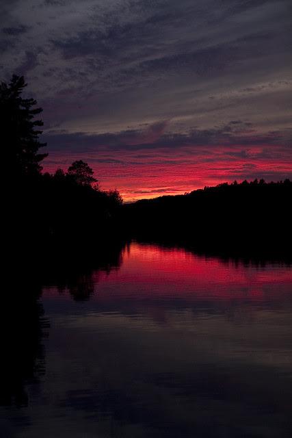 sunset vertical