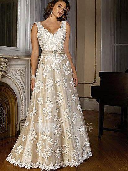 Champagne Wedding Dresses on Pinterest   Champagne Color