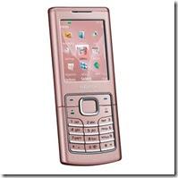 Nokia Clasic 6500 in pink