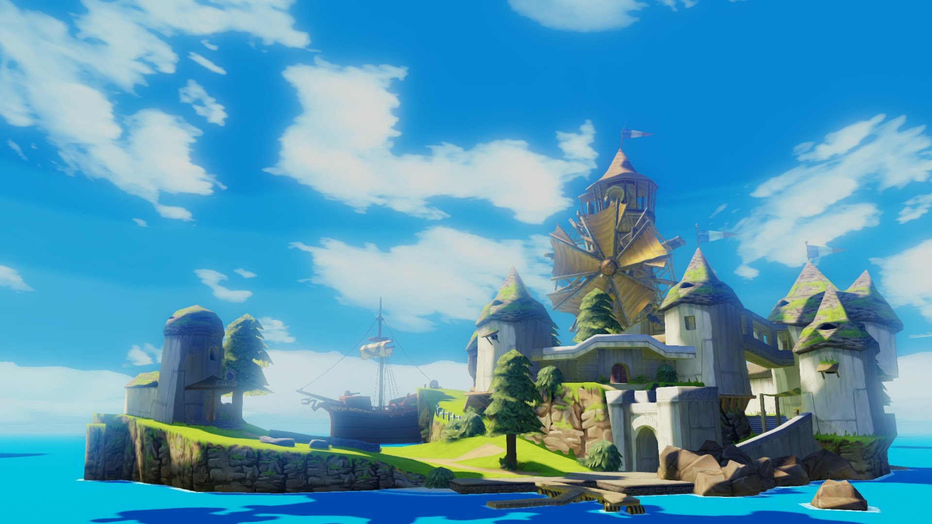 Zelda Wind Waker Hd Wallpaper 89 Images