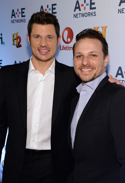 Drew Lachey - Arrivals at A+E Networks Upfront
