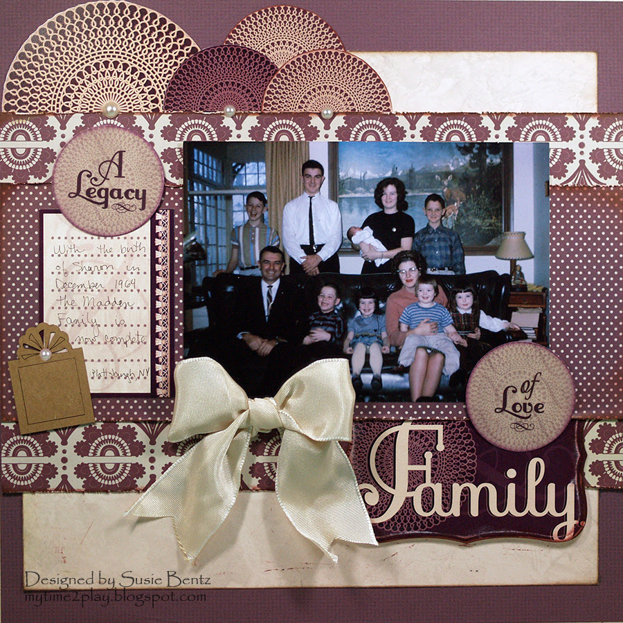 Layout: A Legacy of Love Family layout *Quick Quotes*