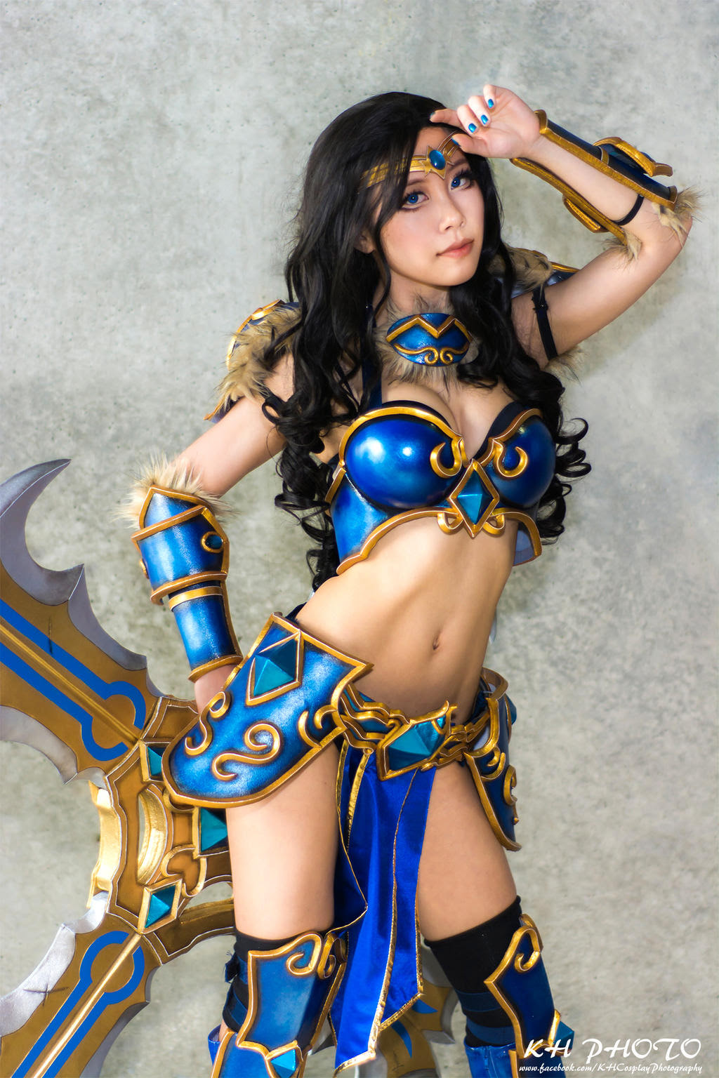 Sivir League Of Legends Cosplay By Miyuki Cosplaygirls