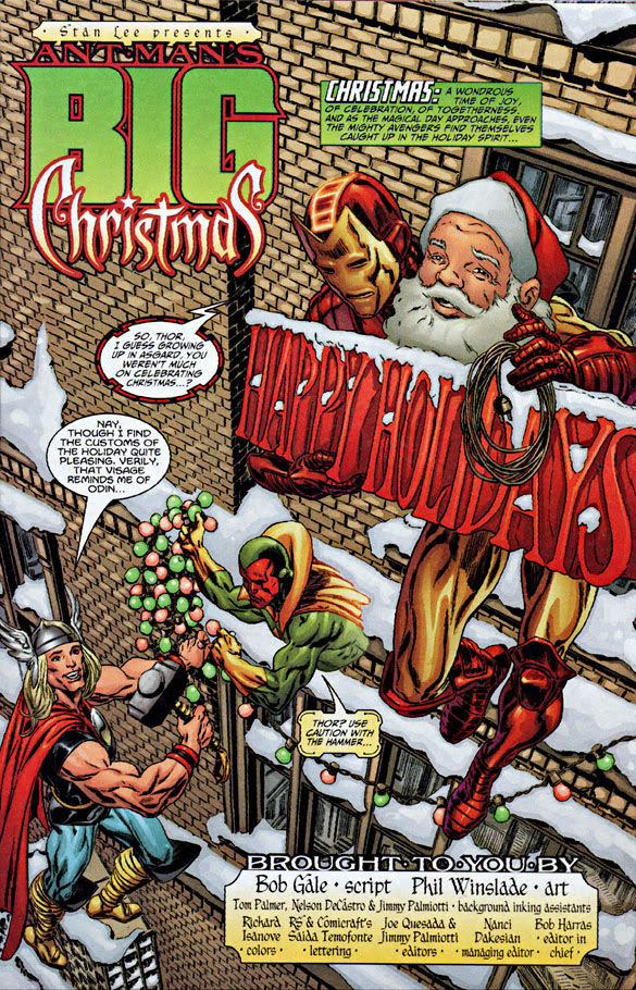 Ant-Man's Big Christmas #1