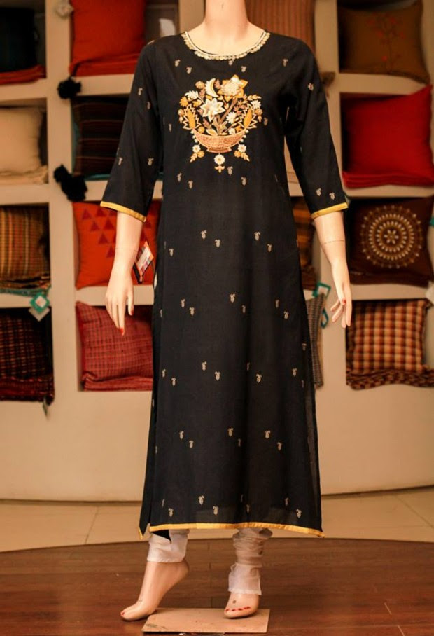 Casual-Lawn-Womens-Girls-Kurta-Kurti-Collection-2013-by-Thredz-for-Ladies-2