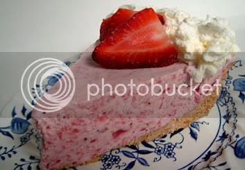 strawberry cream pie