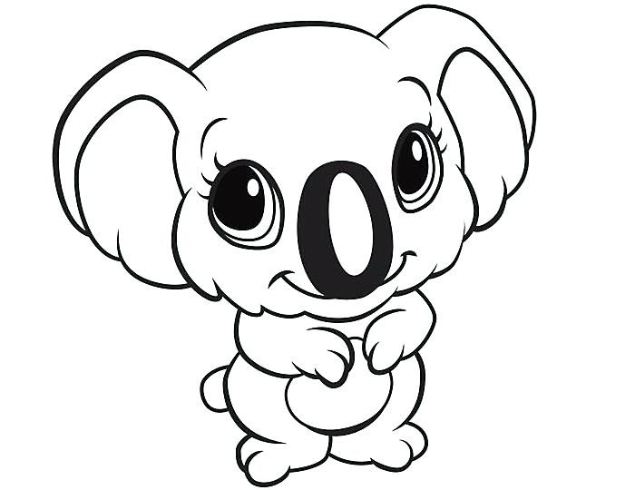 Easy Animal Coloring Pages at GetColorings.com | Free ...