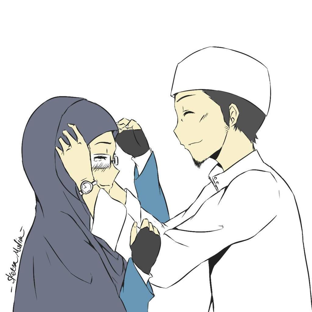 Gambar Anime Muslim Lucu