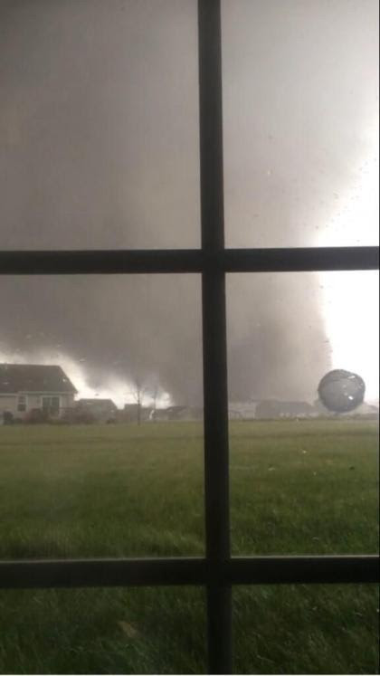 Today has been a day of weather hell and devastation from tornadoes..  And as these things usually are, living through weather history is not an enjoyable experience, stay safe and be aware that more weather tonight is likely..